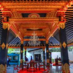 Yogyakarta Palace is one particular area that is different from some other regions in Indonesia