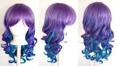Crunchyroll - Store - Mei - 20'' Layered Loose Curly Cut w/ Long Bangs Wig.