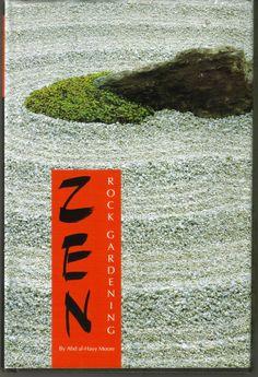 Zen Rock Gardening Book by ShopHereVintage on Etsy Japanese Rock Garden, Zen Rock Garden, Gardening Books, Vintage, Etsy, Art, Ideas, Art Background, Kunst