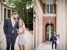 Brick archway at this Vanderbilt Engagement Session by Knoxville Wedding Photographer, Amanda May Photos. Brick Archway, Amanda May, Nashville Photographers, Vanderbilt University, Posing Tips, Engagement Session, The Incredibles, Poses, Couples