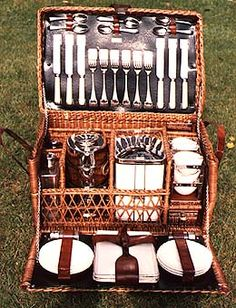 Picture of 6 Person Drew u0026 Sons Picnic set The variety and range of picnic set & This vintage Louis Vuitton picnic set for six people from 1918 ...
