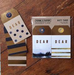 Ferme à Papier Gift Tags by Cat Seto