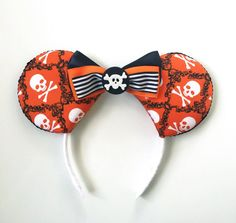Pirates of the Carribean Ears Pirates Disney by ToNeverNeverland