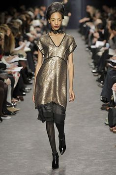 Derek Lam Fall 2008 Ready-to-Wear Fashion Show - Jourdan Dunn