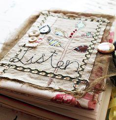 Art Quilt Journal (listen) by Rebecca Sower, via Flickr