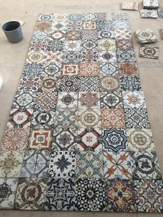 Tile and Quilting – Quilt*Stalking Morrocan Floor Tiles, Morrocan Bathroom, Moroccan Tiles, Moroccan Decor, Morrocan Tiles Kitchen, Moroccan Bedroom, Moroccan Lanterns, Moroccan Interiors, Turkish Kitchen