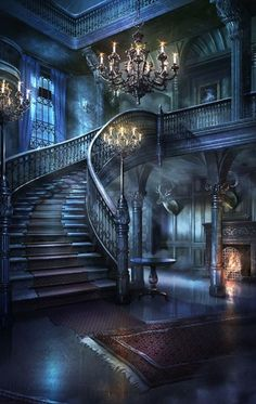 architecture old gothic castles Brierwell Fantasy Places, Fantasy World, Dark Fantasy, Episode Backgrounds, Gothic House, Anime Scenery, Fantasy Landscape, Fantasy Art Landscapes, Fantasy Artwork