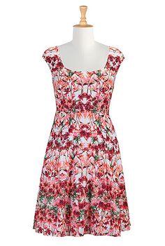 #eShakti - #eShaktiSpringitOn - So Vibrant! Shop Women's designer fashion dresses, tops | Size 0-36W & Custom clothes | eShakti