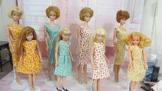 Recreation of Barbie fabric design for Barbie & Skipper Barbie Skipper, Fabric Design, Lily Pulitzer, Doll, Dresses, Fashion, Vestidos, Moda, Fashion Styles