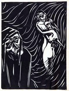 Claus Wrage, Dante - Block - Buch, Freiburg 1925