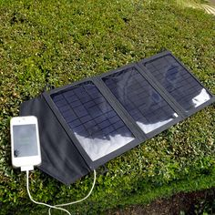 Instapark® M10 Folding Solar Panel Portable Battery Charger Dual USB 10 Watt | eBay