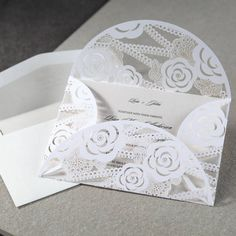 107 Best Laser Cut Wedding Invitations Images Laser Cut Invitation