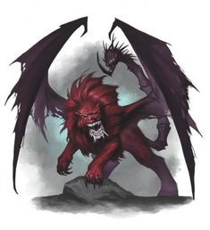Mantik by BryanSyme on DeviantArt Mythological Creatures, Fantasy Creatures, Mythical Creatures, Fantasy Monster, Monster Art, High Fantasy, Dark Fantasy Art, Manticore, Fantasy Beasts