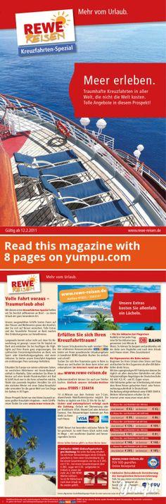 Meer erleben. - Magazine with 8 pages: Meer erleben. Magazin mit 8 Seiten von s.moser