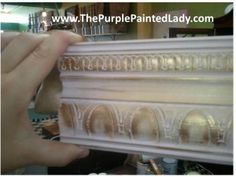 Gilding Wax - Buy here & How to use!  Great tutorial!  works great over ASCP