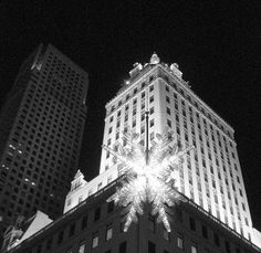 Christmas Night in New York City by chrisjur, via Flickr