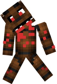 Minecraft Spielen Deutsch Skin Para Minecraft Pe De Freddy Bild - Skins para minecraft pe de fnaf