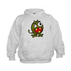 Angry Green Monster Sweatshirt