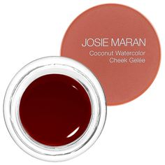 Josie Maran Coconut Watercolor Cheek Gelée: Blush | Sephora honeymoon honey