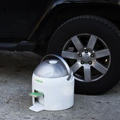 Eco-friendly washer Drumi on the go. Take it anywhere you go.