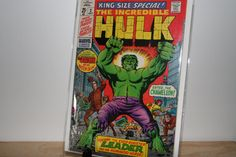 1969 King Size 2 Issue The Incredible Hulk by pasttimejewelry