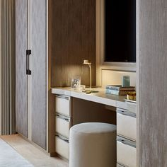 Each room has the ability to feature amazing furnishings and elegant decor. See to the master bathroom precisely the same way that you would deal with any other room in regards to accessories. Wardrobe Design Bedroom, Wardrobe Closet, Built In Wardrobe, Closet Bedroom, Bedroom Decor, Home Room Design, Living Room Designs, Dressing Room Closet, Dressing Rooms