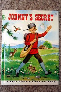 Johnny's Secret by Frank Lewis 1975 Rand McNally Storytime Book Marjorie Cooper | eBay
