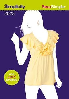 Simplicity Creative Group pattern- Sew Simple Misses' Top $1.99