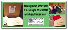 5 tips to make books accessible and meaningful to children who are blind, visually impaired or deafblind
