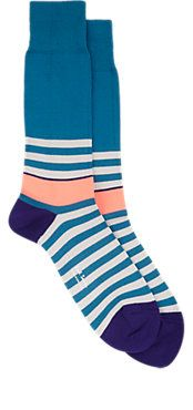 Paul Smith Stripe Mid-Calf Socks