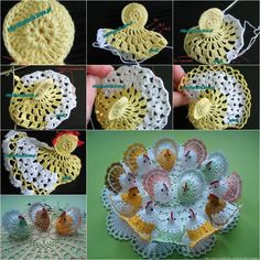 DIY Cute Crochet Chick or Bunny | www.FabArtDIY.com