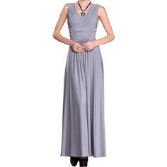 Cheap long dress, Buy Quality halter dress directly from China vestidos vestidos Suppliers: Long Dresses New European American Sexy v-neck Vest Vestido Sleeveless Slim Halter Dress Clothing Vestidos LBD948