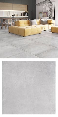 Create that trendy industrial look in your home with these Trax Grey Mist Matt Tiles. They're made from porcelain and have a concrete effect design. Large Floor Tiles, Grey Floor Tiles, Gray Floor, Modern Flooring, Grey Flooring, Tile Flooring, Concrete Floors, Living Room Flooring, Bedroom Flooring