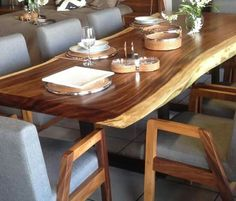 Parota dining table. Seat 6-8