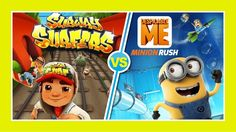 Subway Surfers -VS- Minion Rush - Best Casual Games