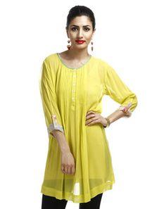 Gorgeous Yellow Tunic yellows96