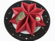 Servietten falten zu einem Stern eine Idee für den KaffeetischStampin`Up! Produkte mit Anregungen der Hobbycompany