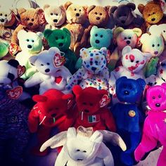 Your Beanie Babies — because you still believe they're your retirement fund.   19 Things All '90s Girls Refuse To Let Go Of