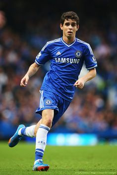 Oscar. Chelsea 2-0 Fulham. Premier League. Saturday, September 21, 2013.