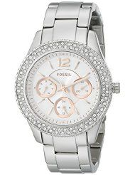 Fossil Women's ES3722 Stella Multifunction Stainless Steel Watch