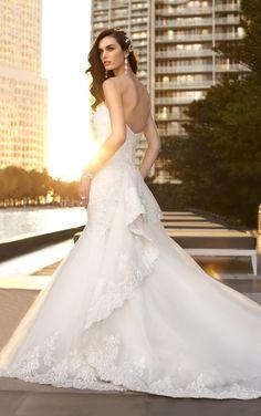 D1448 Trumpet Wedding Dresses by Essense of Australia