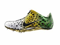 Custom Asafa Powell Aerofly sprint spike   For all the latest Sprint spikes news and reviews, from the top athletic brands like Nike, Adidas and Puma visit http://sprintspikes.info/