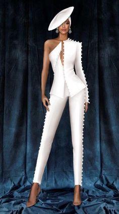 Suit Fashion, Look Fashion, High Fashion, Fashion Dresses, Fashion Design, Classy Dress, Classy Outfits, Stylish Outfits, Fashion Illustration Dresses