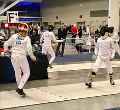DFC fencer Josie J represents us well in Y14 womens épée at the NAC in Cleveland, Ohio