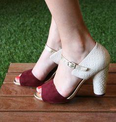 Chie mihara- jade wine sandals