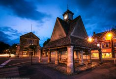 The medieval Buttercross at Witney, Cotswolds, Oxfordshire, England | Flickr - Photo Sharing!