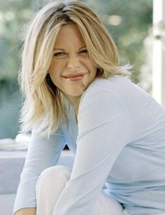 Meg Ryan..Always did like her  in movies, every movie she is adorable!  This pictures best shows her personality :)