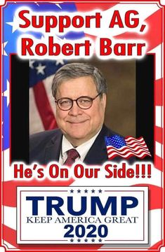 Correction: AG Barr's first name is William (Bill), not Robert. John Trump, Trump Train, Conservative Politics, American Presidents, God Bless America, We The People, Love You, Words, Trump American
