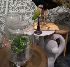 VT wonen & Design beurs staat vol met botanische prints, bloemen en planten accessoires