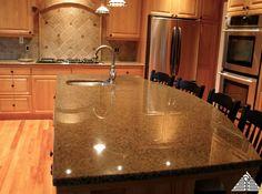 Such a pretty kitchen, love the granite